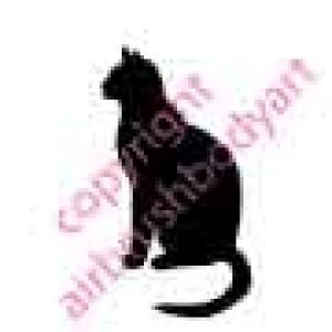 0242 cat reusable stencil